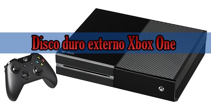 Disco duro externo Xbox One