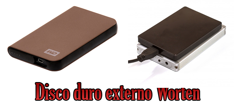 Disco duro externo Worten